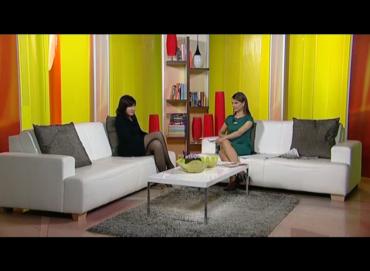 TV Vijesti, jutarnji program, dr Biljana Jovović Pepić, 04.04.2012 god.