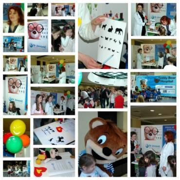 Učestvovali smo u dječjoj manifestaciji Teddy Bear hospital, održanoj u subotu 28.03.2015 u Mall of Montenegro