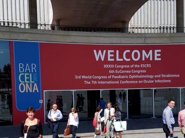 ESCRS 05 – 09 Septembar 2015, Fira Gran Via, Barselona, Španija