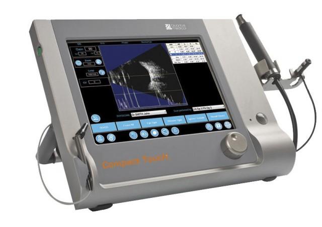 Quantel medical Compact touch ultrazvuk oka