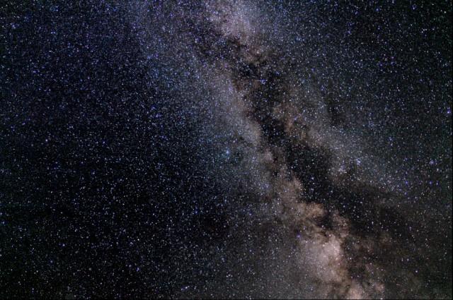 Neki su tvrdili da su ugledali galaksije udaljene tri miliona svetlosnih godina.