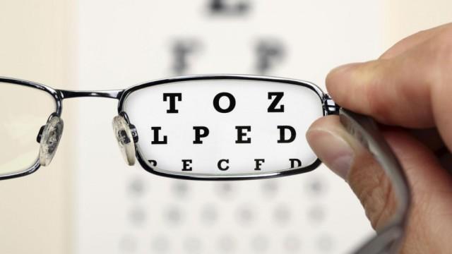 Testovi za oči provjeravaju našu sposobnost razlikovanja crne i bijele boje koje formiraju slova.