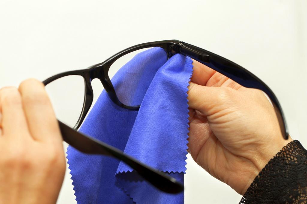 Kako da pravilno očistite vaše naočare?