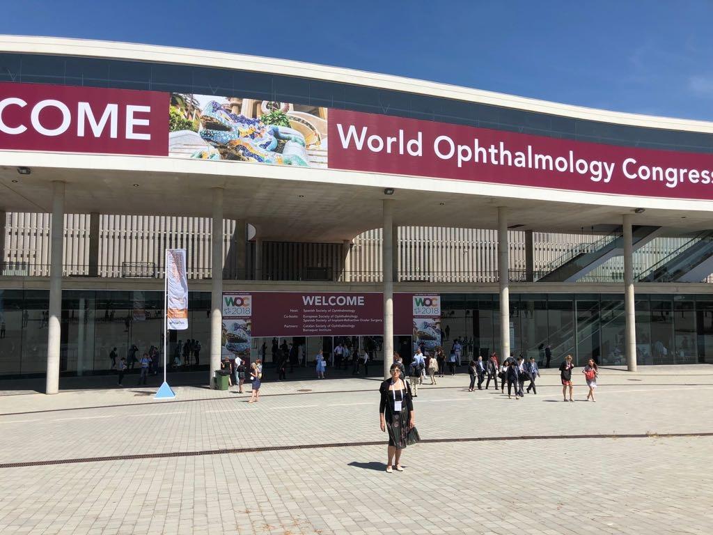 Prisustvovali smo 36. svjetskom kongresu oftalmologije u Barseloni, Španija